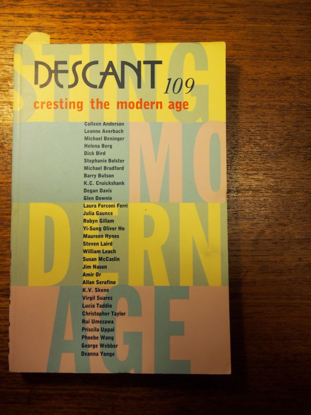 Descant 109 listing my name